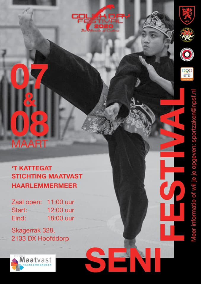 SENI FESTIVAL IN HOLAND 2020